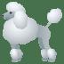 🐩 poodle Emoji on Joypixels Platform