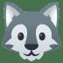 🐺 wolf Emoji on Joypixels Platform
