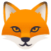 🦊 Fox Emoji on JoyPixels Platform