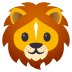 🦁 lion Emoji on Joypixels Platform