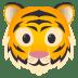 🐯 tiger face Emoji on Joypixels Platform