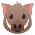 🐗 boar Emoji on Joypixels Platform