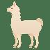 🦙 llama Emoji on Joypixels Platform