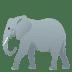 🐘 elephant Emoji on Joypixels Platform