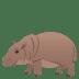 🦛 hippopotamus Emoji on Joypixels Platform