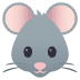 🐭 mouse face Emoji on Joypixels Platform