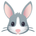 🐰 rabbit face Emoji on Joypixels Platform