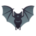 🦇 bat Emoji on Joypixels Platform
