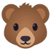 🐻 bear Emoji on Joypixels Platform