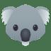 🐨 koala Emoji on Joypixels Platform