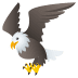 🦅 eagle Emoji on Joypixels Platform