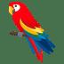 🦜 parrot Emoji on Joypixels Platform