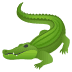 🐊 crocodile Emoji on Joypixels Platform