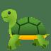 🐢 Schildkröte Emoji auf der JoyPixels-Plattform