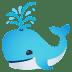 🐳 spouting whale Emoji on Joypixels Platform