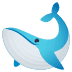 🐋 whale Emoji on Joypixels Platform