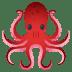 🐙 octopus Emoji on Joypixels Platform