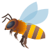 🐝 honeybee Emoji on Joypixels Platform