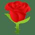 🌹 rose Emoji on Joypixels Platform