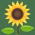 🌻 Bunga Matahari Emoji pada Platform JoyPixels