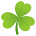 ☘️ shamrock Emoji on Joypixels Platform