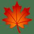 🍁 maple leaf Emoji on Joypixels Platform