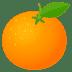 🍊 tangerine Emoji on Joypixels Platform