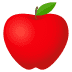 🍎 red apple Emoji on Joypixels Platform