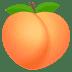 🍑 복숭아 JoyPixels 플랫폼 이모티콘