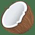 🥥 coconut Emoji on Joypixels Platform