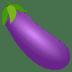 🍆 eggplant Emoji on Joypixels Platform