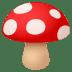 🍄 mushroom Emoji on Joypixels Platform