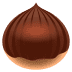 🌰 chestnut Emoji on Joypixels Platform
