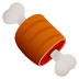 🍖 meat on bone Emoji on Joypixels Platform