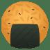 🍘 rice cracker Emoji on Joypixels Platform
