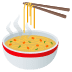 🍜 steaming bowl Emoji on Joypixels Platform