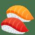 🍣 sushi Emoji on Joypixels Platform