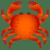 🦀 Crab Emoji on JoyPixels Platform