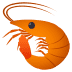🦐 shrimp Emoji on Joypixels Platform