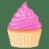 🧁 Cupcake Emoji on JoyPixels Platform