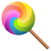 🍭 Lollipop Emoji on JoyPixels Platform