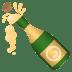🍾 bottle with popping cork Emoji on Joypixels Platform