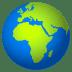 🌍 globe showing Europe-Africa Emoji on Joypixels Platform