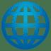 🌐 globe with meridians Emoji on Joypixels Platform