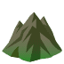 ⛰️ mountain Emoji on Joypixels Platform