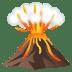 🌋 volcano Emoji on Joypixels Platform