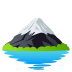 🗻 mount fuji Emoji on Joypixels Platform