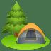 🏕️ camping Emoji on Joypixels Platform
