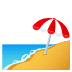 🏖️ beach with umbrella Emoji on Joypixels Platform