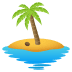 🏝️ desert island Emoji on Joypixels Platform